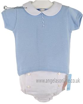 Granlei Boys Top & Shorts 1-235 Blue