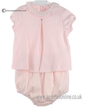 Laranjhina Girls 2 Pce V6675 Pink
