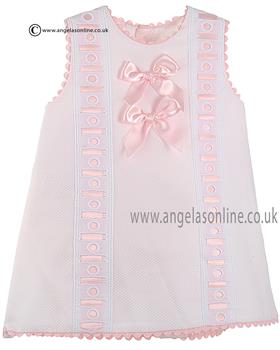 Pretty Originals Baby Girls Dress & Knicks MB10170E Pink