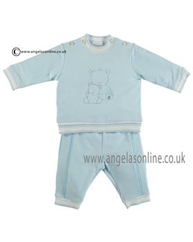 Emile et rose Baby Boys Teddy Top & Trousers 6378pb Jesse