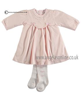 Emile et Rose Baby Girls Dress & Tight 8301pp June