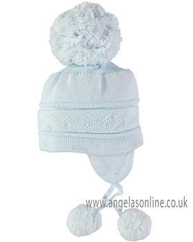 Emile et Rose Boys Bobble Hat 4713pb Griffin