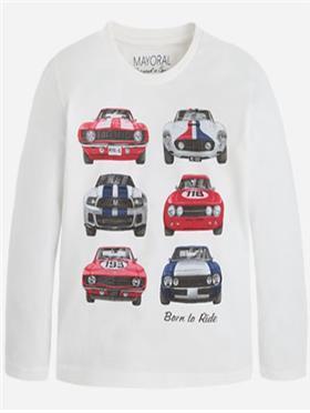 Mayoral Boys T-Shirt 4034-16 White