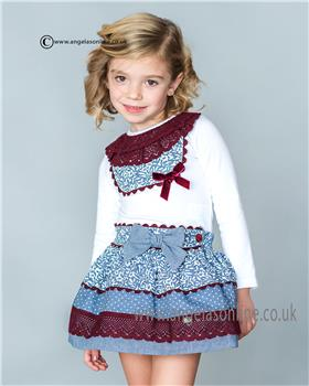 Dolce Petit Girls Top & Skirt 20-2220-C/20-2220-3