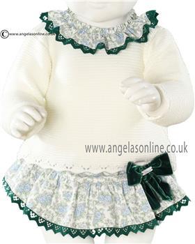 Miranda baby girls jumper & frilled jam pant 20-0131-J3 Pink
