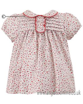 Sarah Louise Girls Dress 010562 Red
