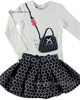 S&D Le Chic Girls Top & Skirt Set C6075417/C6075739