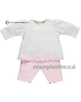 Emile et Rose Baby Girls Top & Trousers 6377pp Juliet