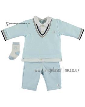 Emile Et Rose Baby Boys Top, Trousers & Socks 6379pb Joseph