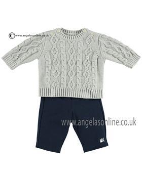 Emile et Rose Baby boys Knitted Jumper & Trousers 6383gr Joshua