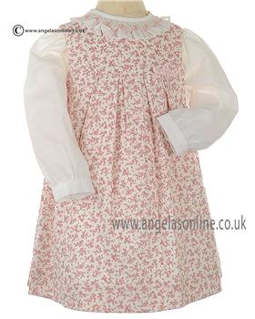 Sarah Louise Girls Blouse & Pinafore 010511-010512