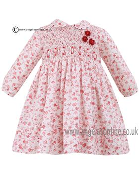 Sarah Louise long sleeve smock dress 010559