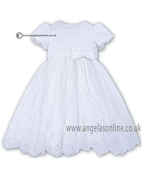 Sarah Louise Girls Occasion Dress 070020 White
