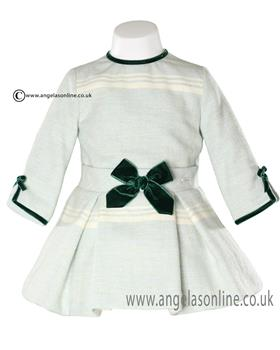 Miranda Girls Dress 20-0231 Green