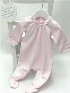 Tutto Piccolo Baby Girls babygrow  1197 Pink