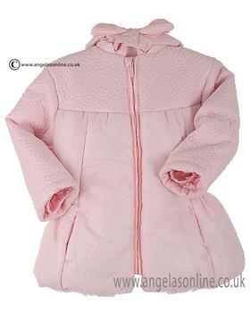 Tutto Piccolo Girls Coat 1629 Pink