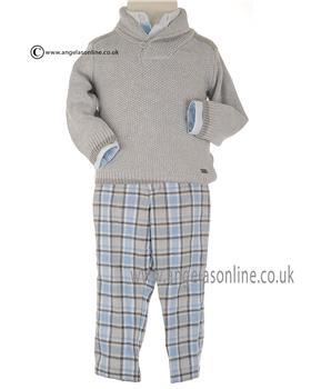 Tutto Piccolo boys shirt jumper & trouser 1048-1847-1124