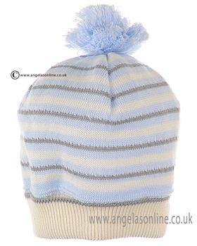 Pretty Originals Boys Striped Hat JPC1365