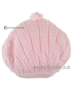 Pretty Originals Girls Beret JPA5380 Pink
