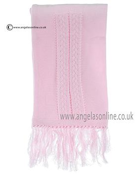 Pretty Originals Girls Scarf JPA5270 Pink