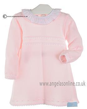 Granlei Baby Girls Dress 2-1021 Pink