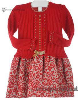 Granlei girls knitted dress 2-1265-16