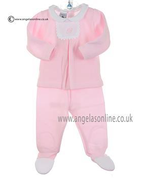 Babidu baby girl 2 Piece 52165 Pink