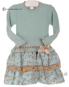 Granlei Girls Dress 2-1205 Green