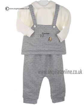Stella baby boys top & pants DD7851 Grey