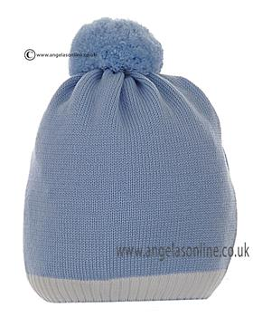 Stella baby boys bobble hat DD5271 Blue