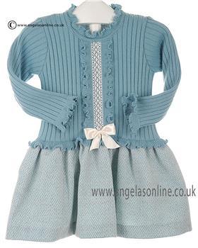 Granlei girls dress 2-1332 Teal