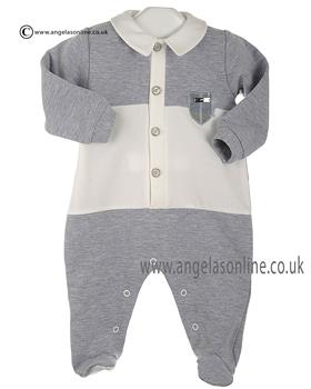 Stella Baby Boys All in One DD8214 Grey