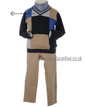 Jumper & Trouser 1048-1844-1145 Navy