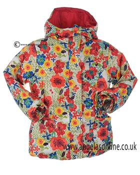 Boboli girls brightly coloured winter jacket 452179