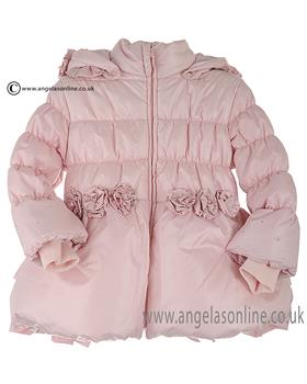Bufi Girls Padded Coat 9799A3 Pink