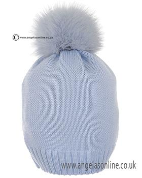 Bufi Boys Hat 9864SC Plain Blue