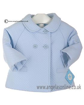 Sardon boys tailored coat AB1686 Blue