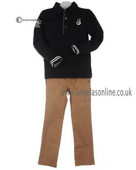 Catimini boys polo top and trousers CI11062/22002