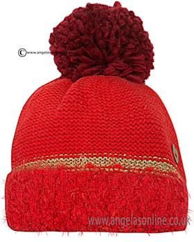 Catimini Girls Bobble Hat CI90023 Red