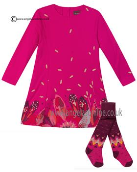 Catimini girls jersey dress CI30113-94073