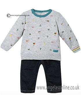 Catimini baby boys jumper & jeans CI36201
