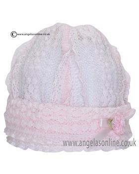 Kate Mack Baby Girls Hat 305PL Pink