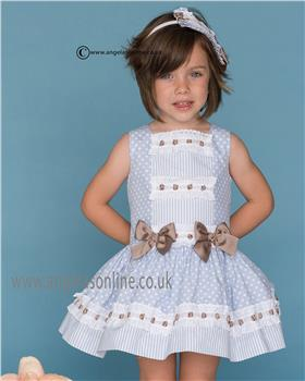 Dolce Petit baby girls dress 21-2227-V Blue