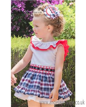 Dolce Petit girls Blouse & Skirt 21-2267-2/21-2267-3