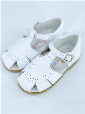 Andanines boys leather sandal 161824 White