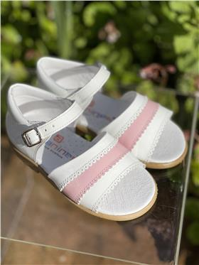 Andanines Girls Sandal 151.831 White Patent