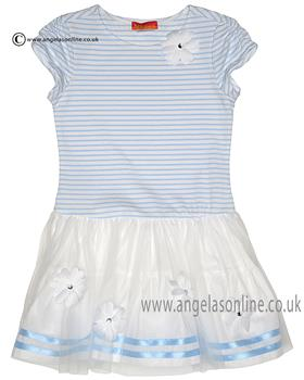Kate Mack girls dress 607DD Blue