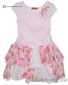 Kate Mack dress 667SS Pink