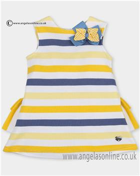 Tutto Piccolo girls dress 2411 Yellow