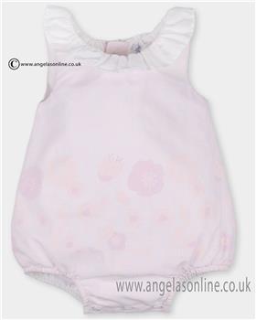 Tutto Piccolo girls bubble romper 2715 Pink